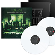 Ultravox Monument the Soundtrack on white vinyl