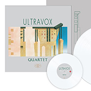 Ultravox Quartet on white vinyl
